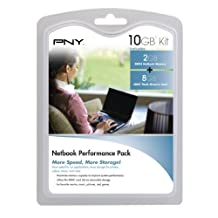 PNY P-NB-SD8DDR2G-FS Netbook Performance Pack -8 GB Class 4 SDHC Flash Memory Card and 2 GB DDR2 Notebook Memory Module