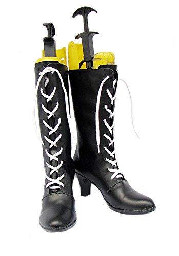 Shoes Black Ciel Boots Custom Cosplay Butler Ciel Kuroshitsuji Shoes Kuroshitsuji Cosplay Black Made Butler gpvqrg