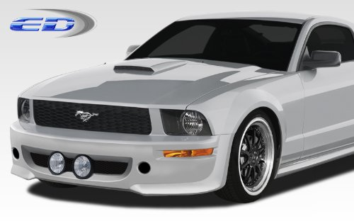 2005-2009 Ford Mustang Polyurethane Eleanor Front Bumper Cover - 1 Piece