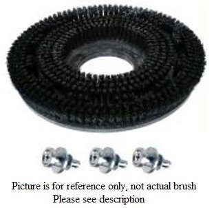18 inch Polypropylene Brush - Viper Fang 18C - VF82011B by Cleaning Parts Direct