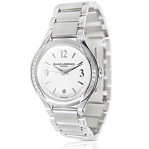 Baume & Mercier Ilea MOA08771 Ladies Watch in Stainless Steel (Certified Pre-owned)
