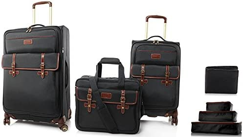 Samantha Brown SAM Upright Expandable Spinner Travel Luggage Set