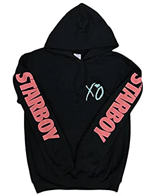 The Weeknd XO Hoodie Legend of The Fall (Coral/Teal Logo)