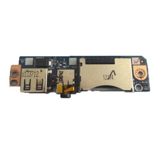 Nodalin Laptop New SD Card Slot USB Audio Board for Lenovo Thinkpad Yoga 2 13 ()