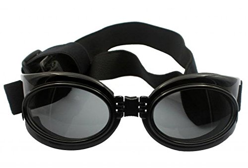 Enjoying Dog UV Protection Goggles Pet waterproof Sun Glasses For Large Pets - Black by Enjoying