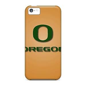 DustinFrench Iphone 5c Scratch Protection Mobile Covers Unique Design Beautiful Oregon Ducks Skin [qjy5972JVxZ]