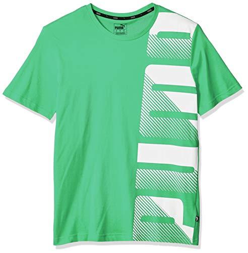PUMA Men's Summer Logo TEE, Irish Green, X-Large