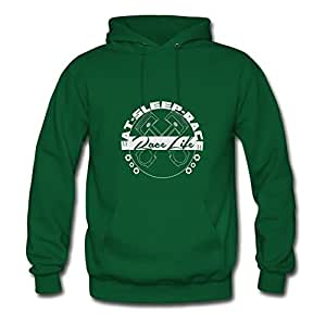 X-large Race Car Designed And Let You Handle It Custom Women Green Hoodies