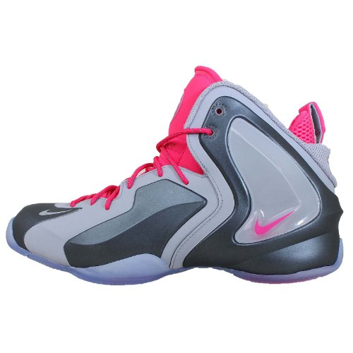 Nike Men's LIL Penny Posite, WOLF GREY/WOLF GREY-HYPER PINK, 11.5 M US