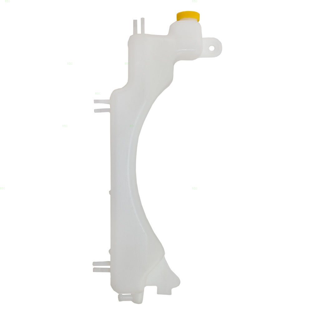 Coolant Overflow Tank Recovery Bottle Expansion Reservoir with Cap Replacement for 01-05 Honda Civic 19101PLC000