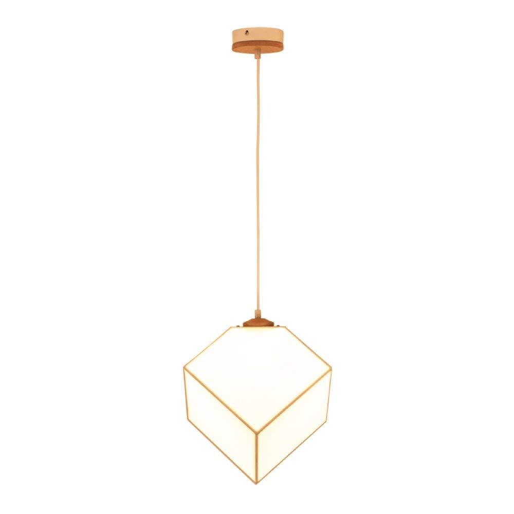 FuweiEncore Nordic Stoff Restaurant Kronleuchter, kreative LED-Ganglichter, einfache und warme Schlafzimmer Bar Café Kronleuchter, Beige, EinheitsGröße