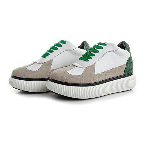 White 37 Signore 2018 Scarpe Shoes In Casual Little Spring Nuove Da Moda Traspiranti Pelle Sneakers Womens's Viaggio Shoes Scarpe C Fall 5RXq7wBw
