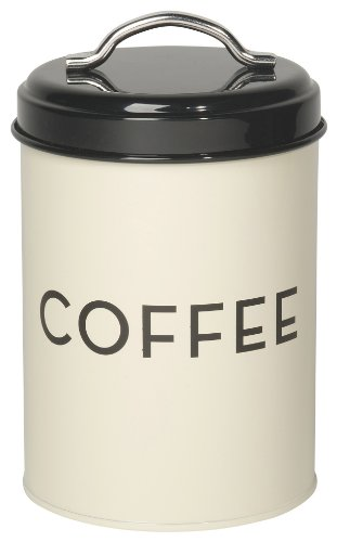 Now Designs Coffee Tin, Ivory