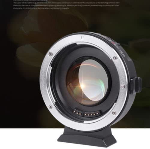 Camera Amopofo-VILTROX EF-M2 Auto Focus Lens Mount Adapter 0.71X for Canon EOS EF Lens to Micro Four Thirds MTF, M4//3