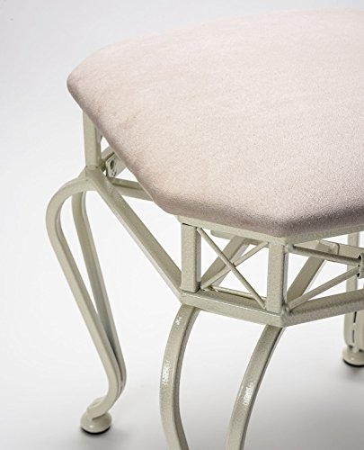 Enstyle Galano Vanity Stool Cream Furniture Benches Benches