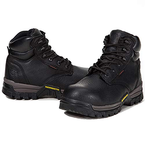 Toe Soft for Composite Composite Blk Work pro Men Safety Boots Waterproof Shoes Toecap Working Toe ROCKROOSTER 5IY7wq7