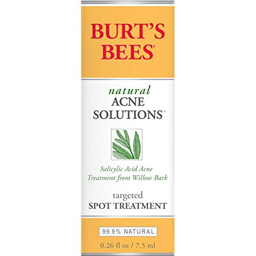 Burt's Bees Natural Acne Solutions Targeted Spot Treatment. 0.26 Fluid Ounces (Pack of 3) ()
