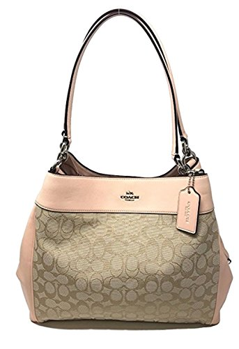 Pink Coach Handbag - 8