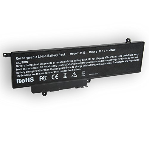 GK5KY Battery Compatible with Dell Inspiron 11 (3147/3148 / 3152) / 13 (7347/7348 / 7352) Series, fits 4K8YH 04k8yh 0WF28 P20T 92NCT 092nct Notebook Battery, 11.1V 43WH - 12 Months Warranty