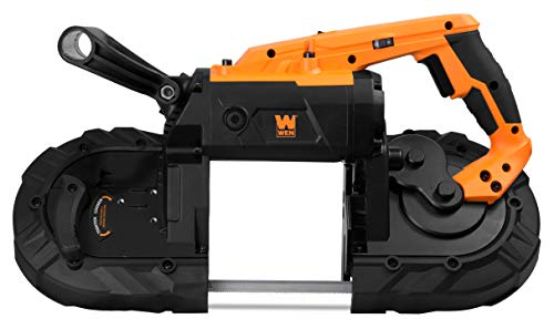 WEN 94396 10-Amp 5-Inch Variable Speed Handheld Portable Band Saw for Metal and Wood by WEN (Image #2)