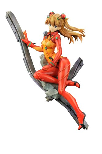 Asuka Pvc Figure - Alter Evangelion: 2.0 You Can (Not) Advance: Asuka Langley Shikinami PVC Figure-Test Type Plugsuit Version (1:8 Scale)