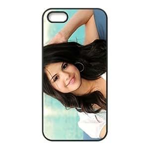 Custom Personalized Selena Gomez Back Cover Case TPU for iphone5,5S JN5S-929