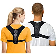 Upgraded Posture Corrector Back Clavicle Support Brace for Women&Men from Briidea,Help to Relieve Neck Shouder Pain and Backache