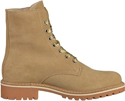 39 1 Lace 25285 Tamaris Floreale Beige up Boots 400 Schnürstiefelette FaxxR6q8