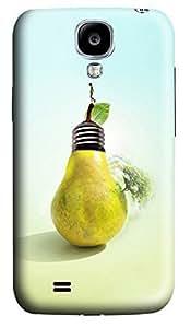Samsung S4 Case Creative 3D Bulb 3D Custom Samsung S4 Case Cover