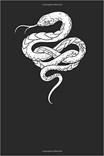 Snake Drawing: Snakes Notebook, Blank Lined (6