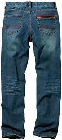 [nissen(ニッセン)] ショート・ハーフパンツ 大きいサイズ ジーンズ(デニム)パンツ ビンテージ加工ストレッチデニムストレートパンツ