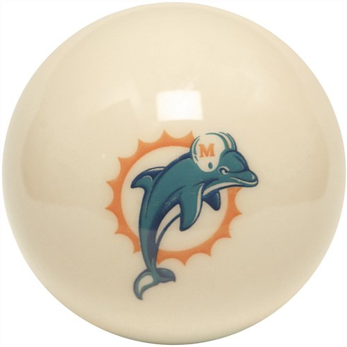 NFL Miami Dolphins Billiards Ball Set by Imperial