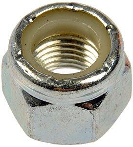 Dorman 251-012 3/8''-24 Grade-2 Hex Lock Nut with Nylon Ring Insert