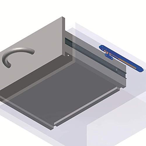 Softeinzug |Selbstschliesssystem 25 kg SIMON Softclose T/ürd/ämpfer D/ämpfer 1 St/ück F/ührungsd/ämpfer SLIDIX II 25 f/ür Schubladen und Schiebet/üren M/öbelt/ürd/ämpfer