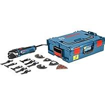 Bosch GOP 40-30 Professional - Multiherramienta, set de 16 accesorios, L-BOXX (potencia 400 W, Starlock)