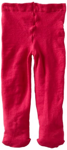 Jefferies Socks Baby-Girls Infant Pima Tight, Hot Pink, 0-6 -