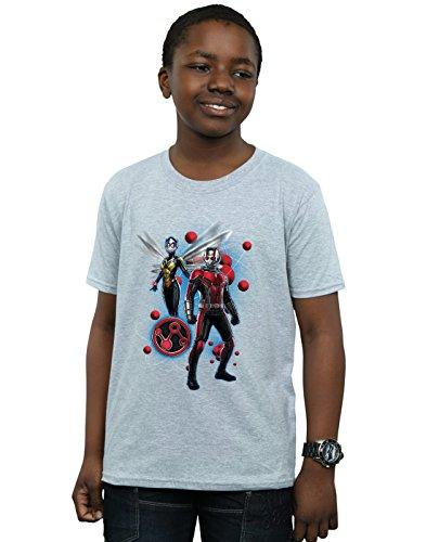 Ant shirt The man Sport T Garçon Pose Marvel Wasp Gris And Particle wxqI5z
