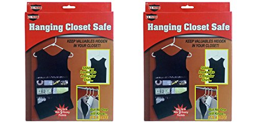 Amazon.com: US Patrol Hanging Closet Safe (Tank Top Style) (2): Jewelry