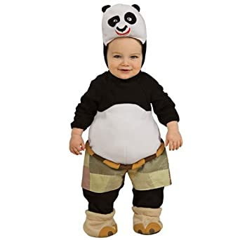 Amazon.com: Kung Fu Panda Po Ez-on Romper Infant Costume ...
