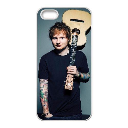Ed Sheeran 005 coque iPhone 4 4S Housse Blanc téléphone portable couverture de cas coque EOKXLLNCD17445