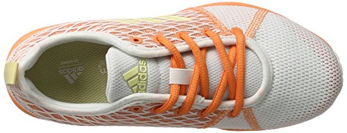 adidas Arianna Cloudfoam, Zapatillas de Deporte Para Mujer Blanco (Ftwr White/easy Yellow /easy Orange)