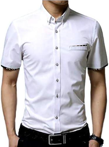 (ナガポ)NAGAPO 半袖 ワイシャツ フォーマル カジュアル ビジネス シンプル 無地 メンズ カッターシャツ