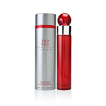 Amazon.com: Perry Ellis Pe- 360 Red M 3.4 Edt Spr, Gris ...