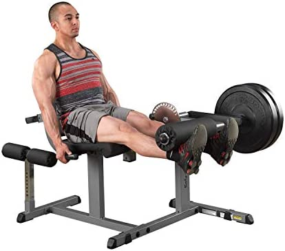 Body-Solid Cam Series Leg Extension and Curl Machine GCEC340