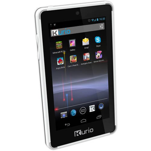Kurio Touch 4S Ultimate Android Handheld Tablet for Kids (Kurio Touch 4s Android White Handheld Tablet)