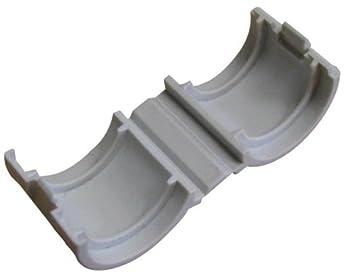 ING Fixations IGLA851410 Sachet de 4 manchons de raccordement eco-ring fini chutes de gaine inutilisables 16 mm