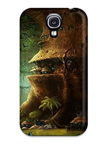 Galaxy S4 Case, Premium Protective Case With Awesome Look - City Fantasy