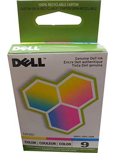 Dell Computer MK991 9 Standard Capacity Color Ink Cartridge for 926/V305 by Dell