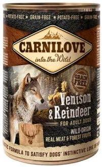 Carnilove Wild Meat Venison & Reindeer, Comida Humeda para Perro, 400 gr - 400 gr