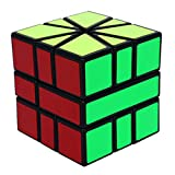 SHENSHOU Rubik's Cube Intelligence Puzzle SQ1 Smooth Rubik,Blackedge,5.55.55.5Cm